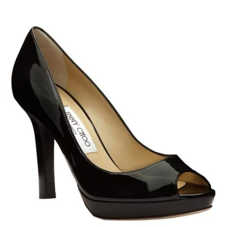 Breeze Patent Leather Platform Sandal by Jimmy Choo